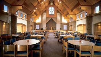View Slide :: First Lutheran Church Celebration Center Interior