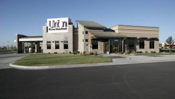 View Slide :: Union State Bank Fargo Exterior