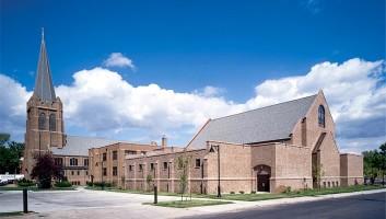 View Slide :: First Lutheran Church Celebration Center Exterior