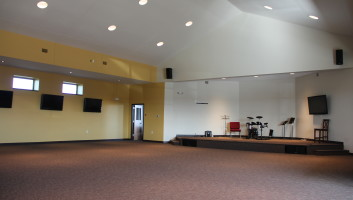 View Slide :: Prairie Heights Ministry Center Interior