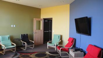 View Slide :: Prairie Heights Ministry Center Interior