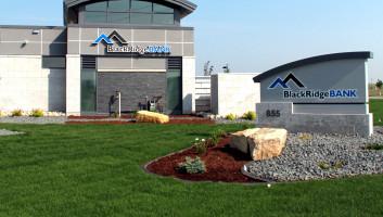 View Slide :: BlackRidgeBANK Exterior