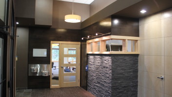 View Slide :: Winegar Colby Dental Interior