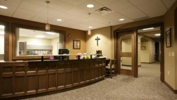 View Slide :: First Lutheran Church Reception