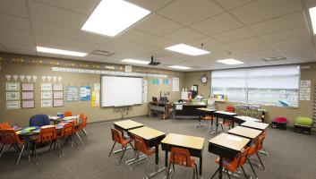View Slide :: Turtle Lake Classroom